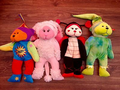 Bulk Cuddly Kids-Lovebug, Tinker, Fifi & Surprise The Party Bear