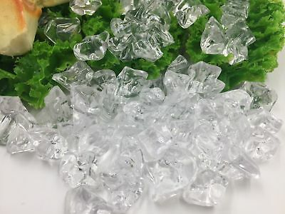 Realistic Plastic ACRYLIC ICE CHIPS Faux Food Replica Concession Display Decor