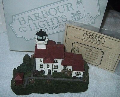 Harbour Lights Lighthouse - GRAND TRAVERSE MICHIGAN  #191  MIB COA 1997 SIGNED