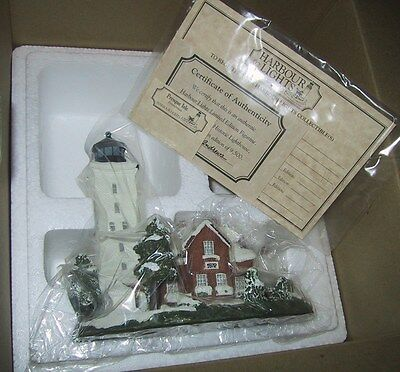 Harbour Lights Lighthouse - PRESQUE ISLE PENNSYVANIA  #201  MIB COA 1997