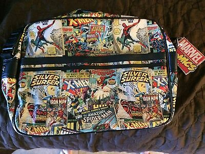 NWT Marvel Retro Collection Messenger Bag - Laptop Carrying Case