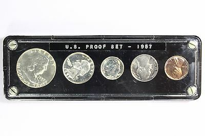 1957 US Proof Coin Set Unc Uncirculated High Polish