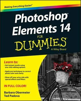 Photoshop Elements 14 for Dummies (Paperback or Softback)