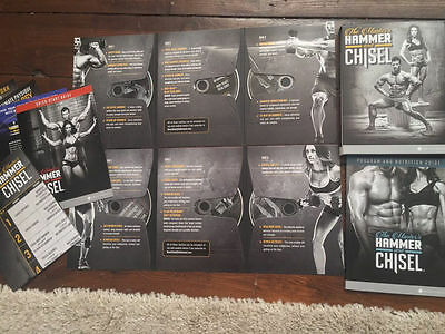 New & Sealed Hammer and Chisel 7 Dvd Deluxe Kit by Autumn Calabrese.