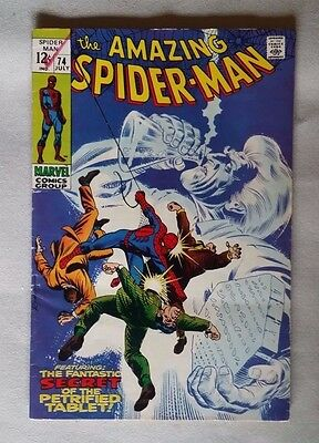SPIDERMAN  No 74 -  Nice Condition