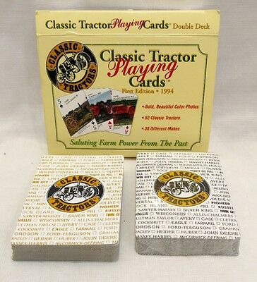 Classic Tractor Playing Cards, Two Deck Set