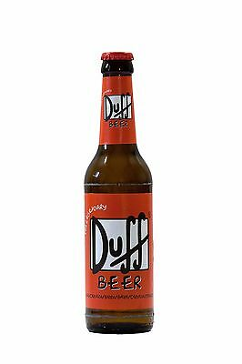 Duff Beer Unopened Collectable Bottle x1 German Made Rare Simpsons Australia