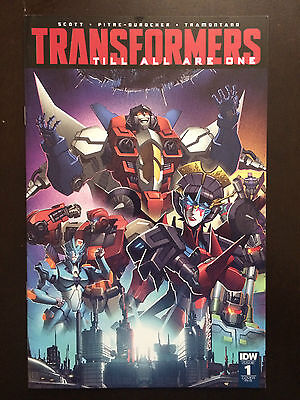 Transformers Till All Are One #1 2016 Variant IDW Comic Book