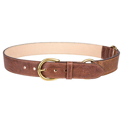 R.M.Williams RMW Edgecliff Leather Belt - Size 34 - RRP $120