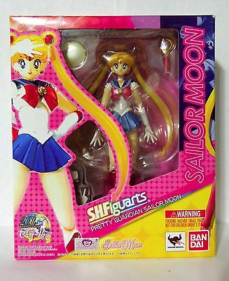 AUTHENTIC Bandai S.H.Figuarts Pretty Guardian Sailor Moon Anime Action Figure
