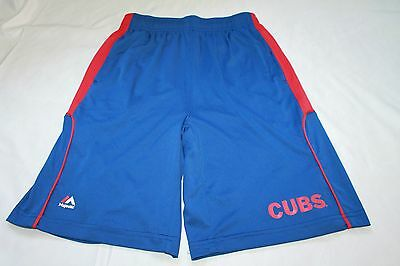 CHICAGO CUBS Youth Boys Athletic Shorts Size M 10-12
