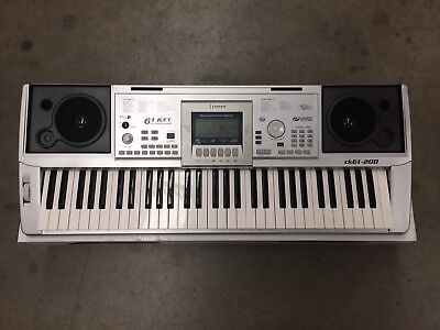 Crown 61-Key Portable Touch Responsive Electronic Keyboard Ex-Demo