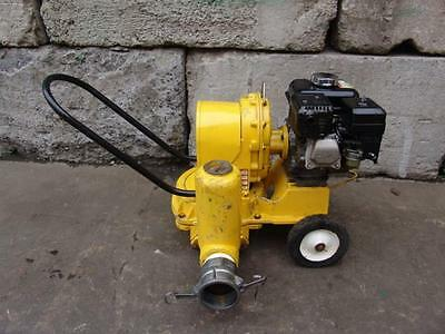Wacker Pd3 3 Inch Trash Mud Diaphragm Pump With Honda Motor Great
