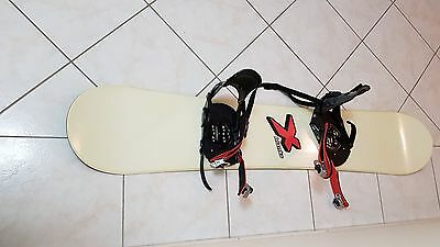 X Blanks 150cm Snowboard with Bindings
