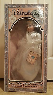 """Vanessa 22"""" Special Edition Fine Porcelain Doll"""