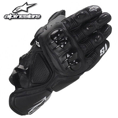 Real Leather  Motorcycle Motorbike Racing Protective Leather Gloves