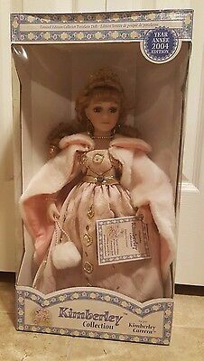"""Kimberly Collection 16"""" Limited Edition Collector Porcelain Doll"""