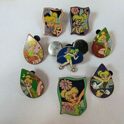 (8) Assorted Disney Tinkerbell Trading Pins