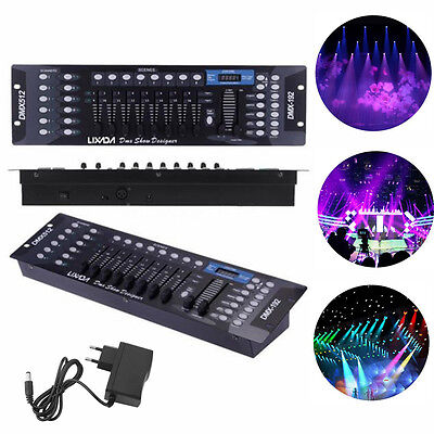 DMX512 Controller 192CH für LED Stage Laser Light Lichtsteuerungen Disco Party L