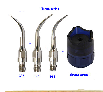 Sirona Scaling Tip GS1+GS2+PS1+ wrench Dental Scaler Tips Fit Sirona Handpiece