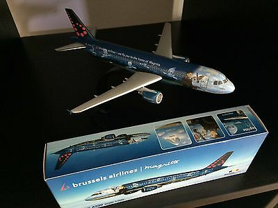 Brussels Airlines René Magritte Airbus A320 scale 1:200