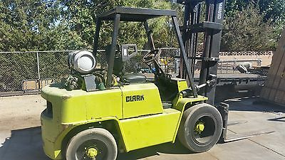 CLARK 8,000 Lb Forklift with Clear-view mast