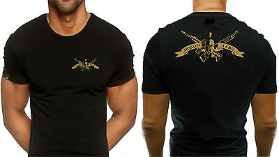 Spartan Spartacus Infidel Army Come Take Them Punisher T shirt