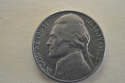 1962 Usa Five Cents