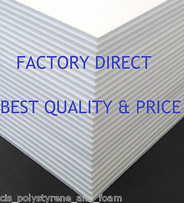 Expanded Polystyrene Foam Sheets Eps70(15Kg/m3) *multiple Sizes And Thicknesses*