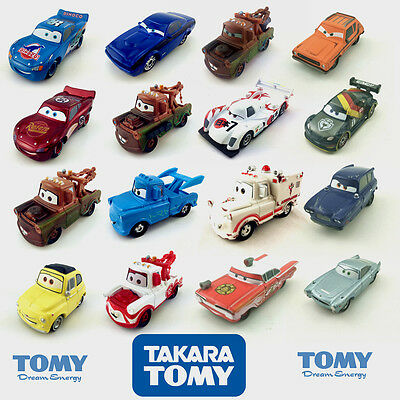Tomy Disney Cars Mater und andere Charaktere Metall Spielzeugauto New Loose 1