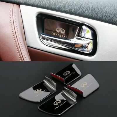 interior inner door handle bowl covers for Infiniti QX50 Q60 QX70 QX80 QX56 G25