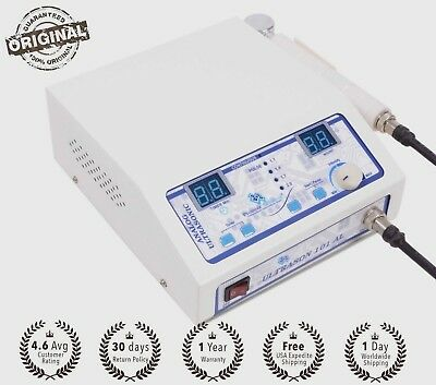 New Professional physical therapy ultrasound ultrasonic machine 1mhz pain relief