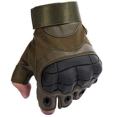 Military Tactical Fingerless Outdoor Motorcycle Half Finger Gloves