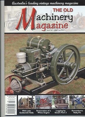 The Old Machinery Magazine TOMM  issue 161 June-JUly 2012