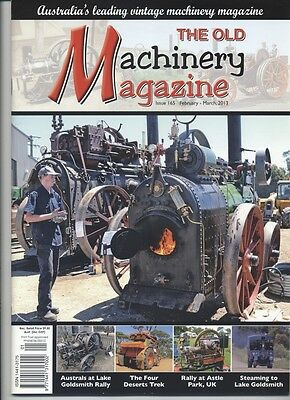 The Old Machinery Magazine TOMM  issue 165 February-March 2013