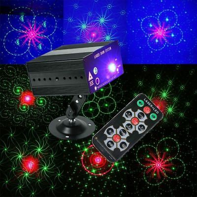 48 Patterns Laser Projector LED RGB Effect Light Stage Lighting Party DJ Disco