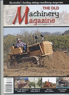The Old Machinery Magazine TOMM  issue 167 June-July 2013
