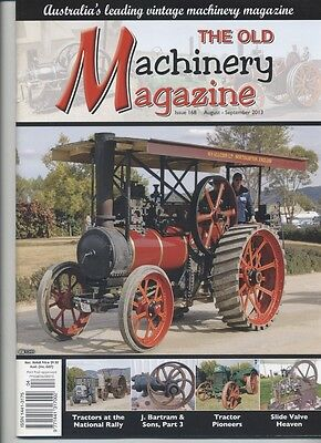 The Old Machinery Magazine TOMM  issue 168 August-September 2013