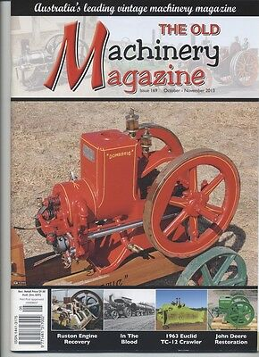 The Old Machinery Magazine TOMM  issue 169 October-November 2013