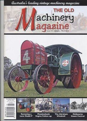 The Old Machinery Magazine TOMM  issue 171 February-March 2014