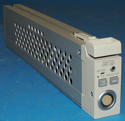 Ando AQ2730 OPM Unit Optical Power Meter AQ2140 Head Module / Warranty