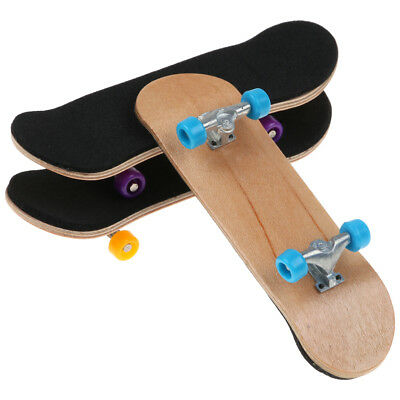 Basic Complete Wooden Deck Finger Board Maple Wood with Bearing Grit Foam Tape