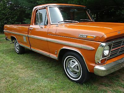 1969 Ford F-100  1969 Ford F100 Ranger Pick Up