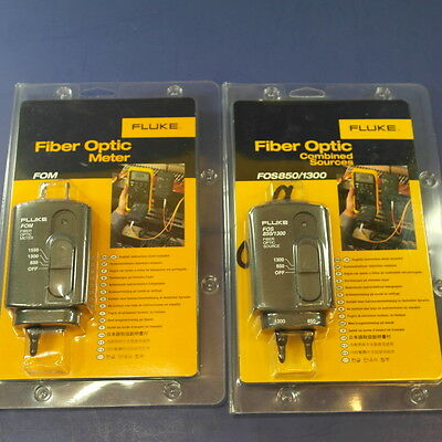 Brand New Fluke FOM FOS 850/1300 1550, 1300, 850 set