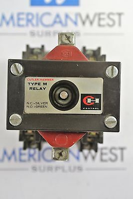 Cutler Hammer D26MR802 Type M Latched Relay with 120v coil