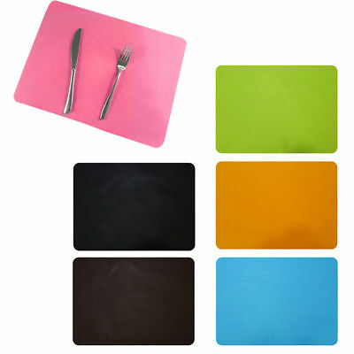 UK Non-slip Waterproof Insulation Bowl Silicone Mat Placemats Table Protector