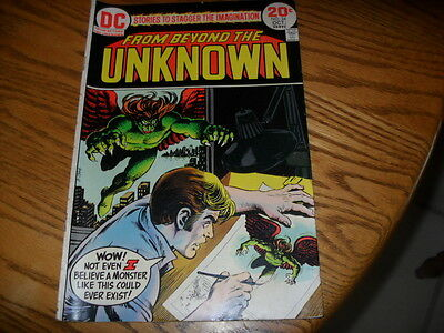 Old 1970's Comic Book Dc From Beyond The Unknown  No. 24 Oct. Vol. 5 1973