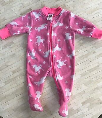 BABY BERRY Bodysuit /Jumpsuit Onsie Fleece Size 0-3 Months New Without Tags