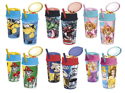 Kids Character Snack Tumbler With Straw