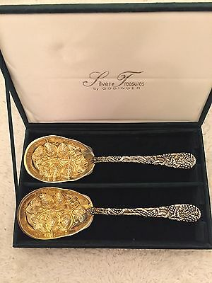 Silver Serving Spoons for wedding gifts
